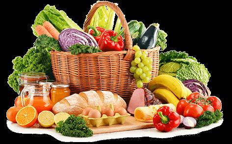 Lebensmittel-Korb