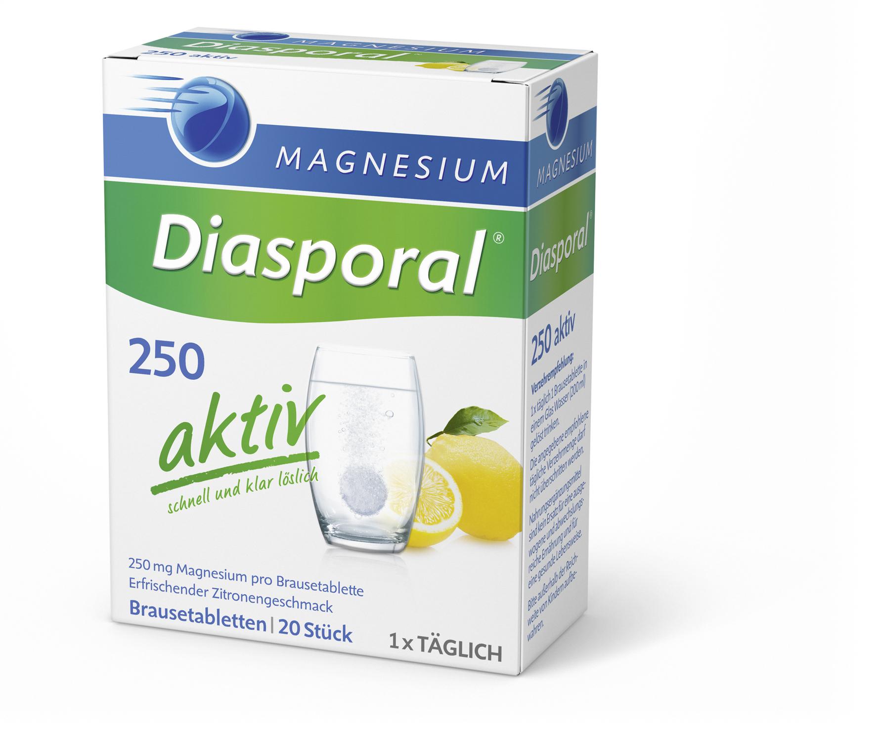 Magnesium Diasporal 250 aktiv 20